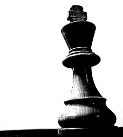 King Chess Piece: Single Element