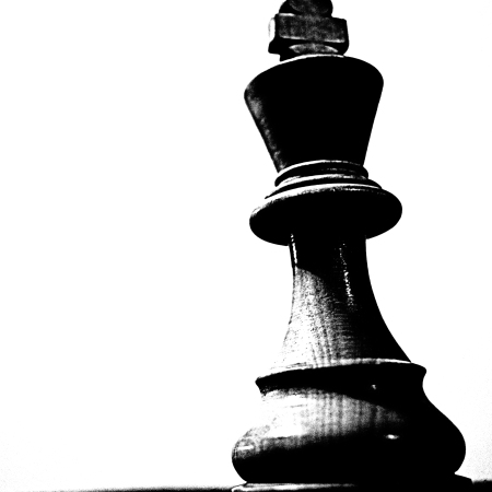 King Chess Piece: Single Element